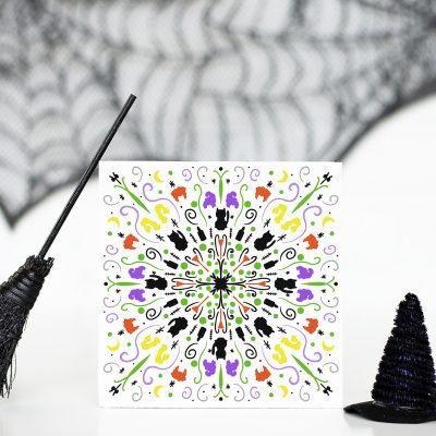 Free Halloween Mandala SVG