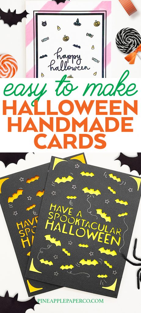 DIY Halloween Card Ideas curated by Pineapple Paper Co.