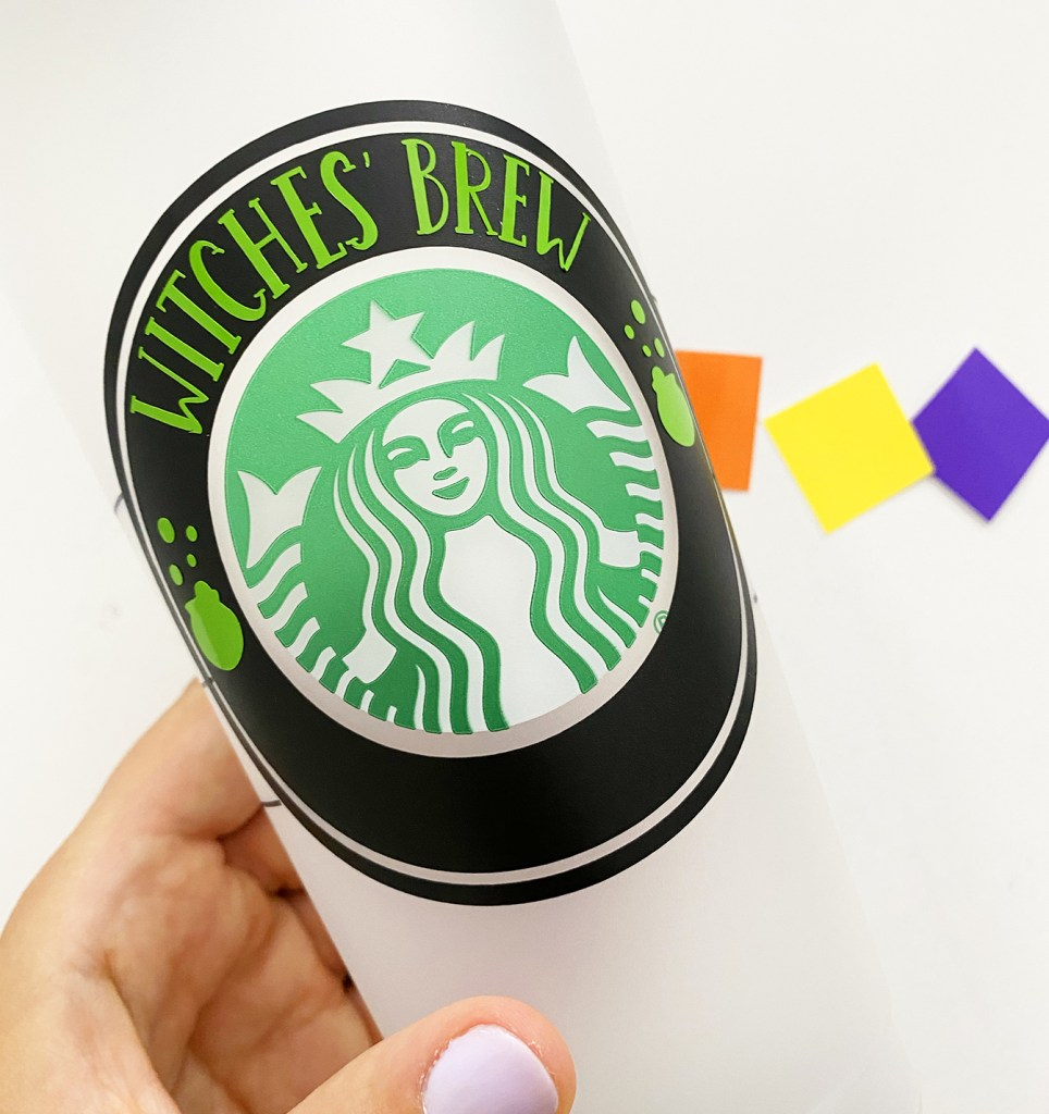 DIY Hocus Pocus Halloween Starbucks Cold Cup SVG