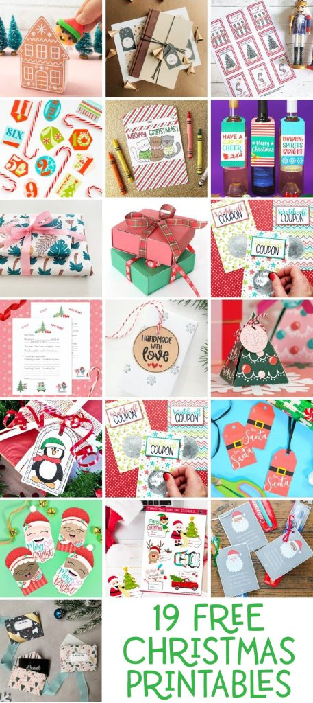 Free Christmas Printables to Download Now at Pineapple Paper Co.