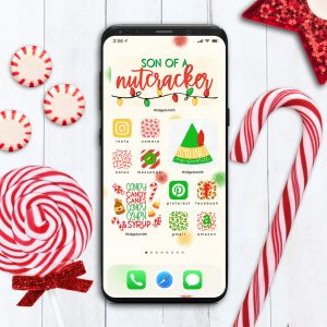 Elf Movie Christmas Aesthetic for iPhone