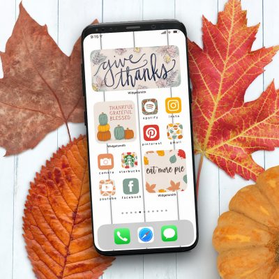 Thanksgiving App and Widget Icons for iPhone