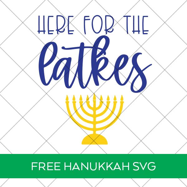Free Hanukkah SVG File