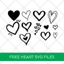 Free Heart SVGs