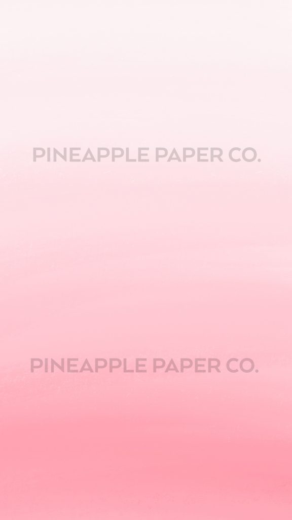 Free Valentine iPhone Wallpaper - Pink Ombre