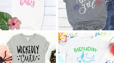 Cricut Shirt Ideas for all occasions