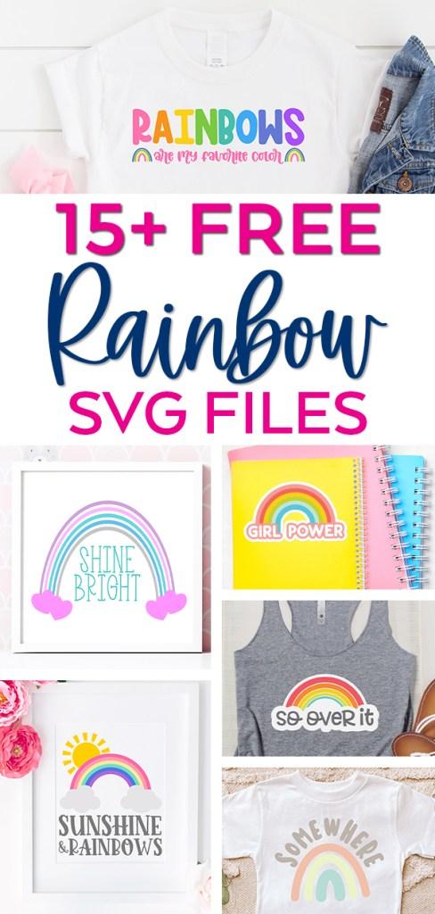 Free Rainbow Svg Files
