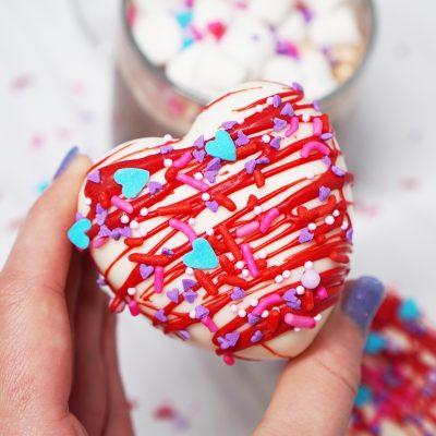Valentine Hot Chocolate Bomb Tutorial