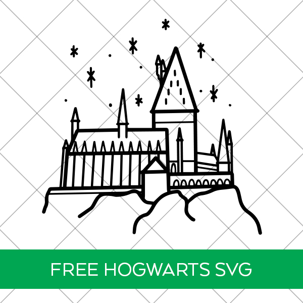 Free Hogwarts SVG