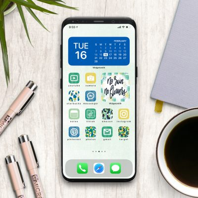 Spring Aesthetic App Icons for iPhone