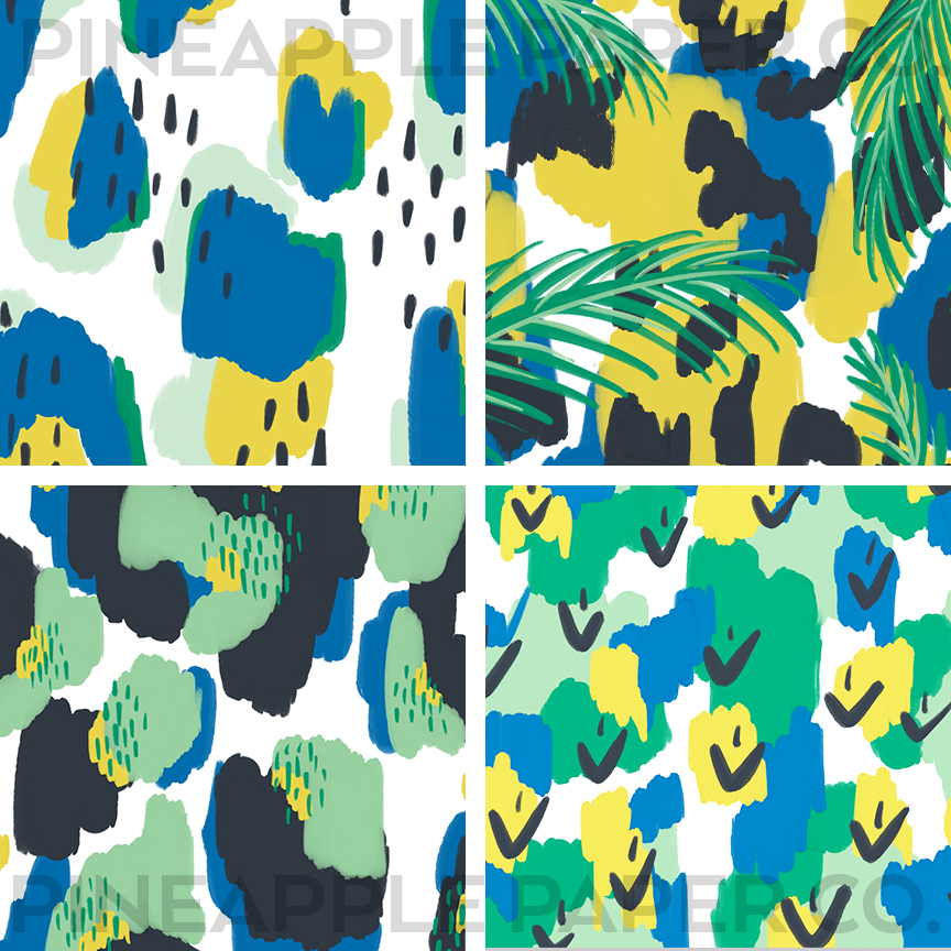 Free Tropical Spring Icons in Spring 2021 Pantone Colors