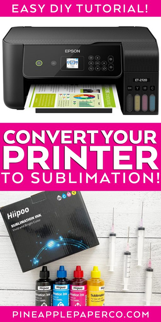 How to Convert a Printer to Sublimation