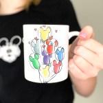 DIY Disney Mickey Balloon Sublimation Mug