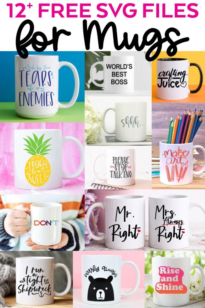 12+ Free Coffee Mug SVG Files for Cricut