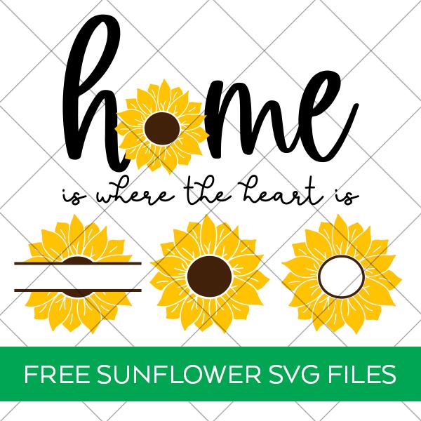 Free Sunflower SVG Bundle