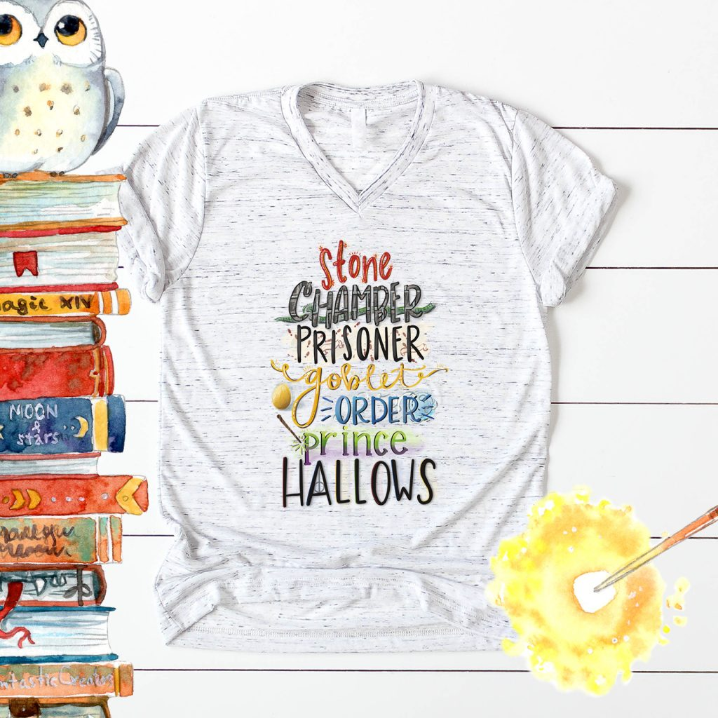 Harry Potter Shirt with Free Sublimation Transfer Design