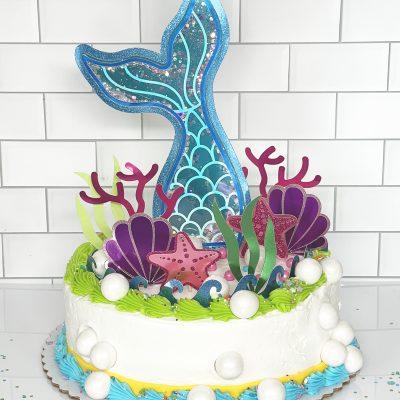 DIY Mermaid Cake Topper