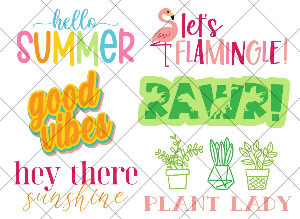 SVG Files created with Creative Fabrica Fonts