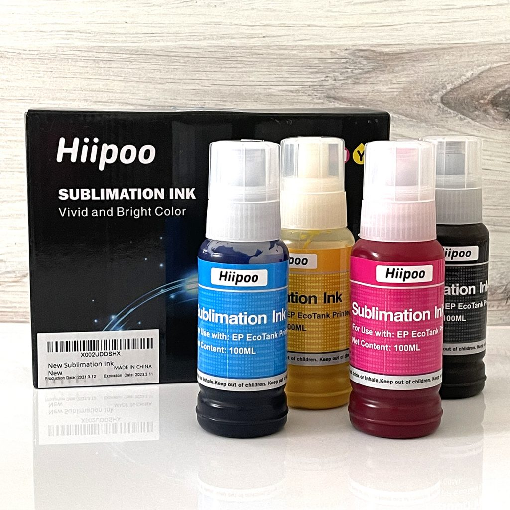 Hiipoo Sublimation Ink in Bottles for Sublimation Mugs DIY