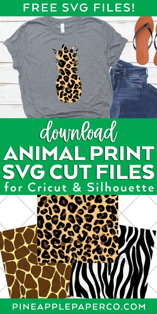 Download FREE Animal Print SVG Cut Files for Cricut and Silhouette