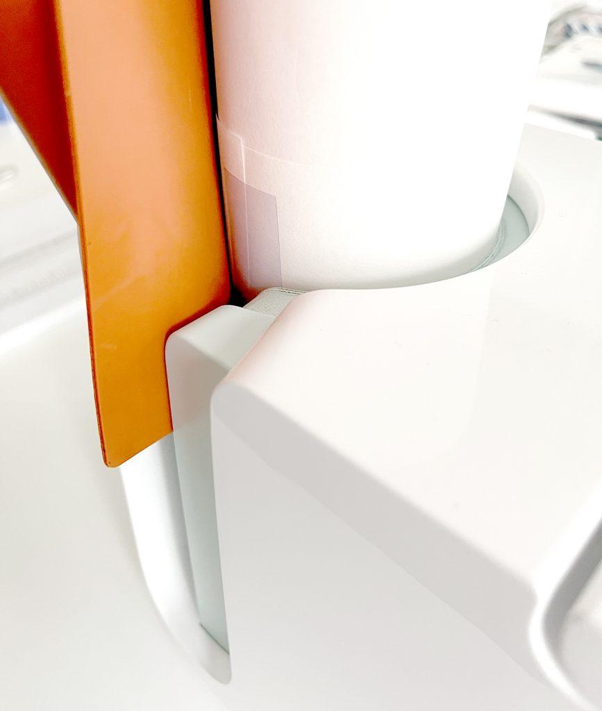 Silicone Mat in Cricut Mug Press for Skinny Tumbler