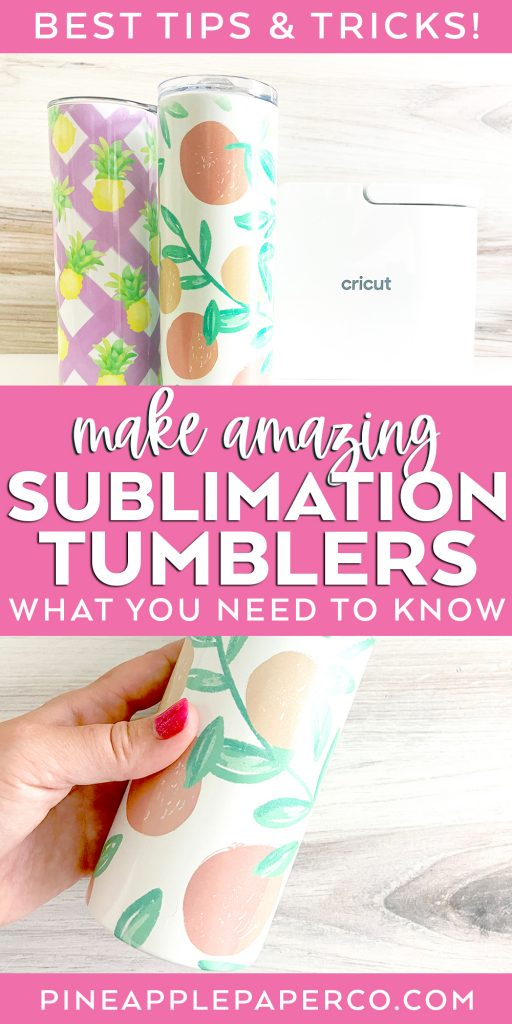 Learn How to Make DIY Sublimation Tumblers