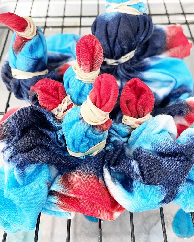 How to Dye a Fireworks Tie Dye Shirt