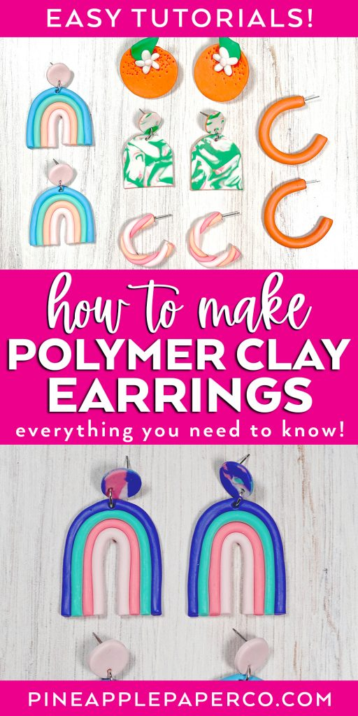 how to make polymer clay earrings the ultimate guide