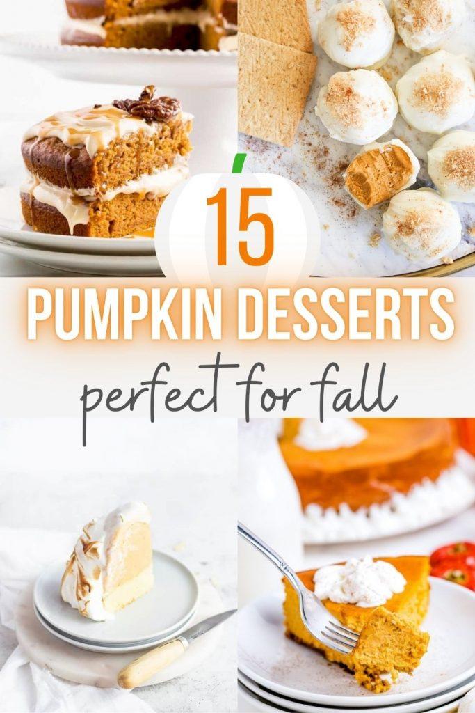 15 Best Pumpkin Desserts that aren't Pumpkin Pie