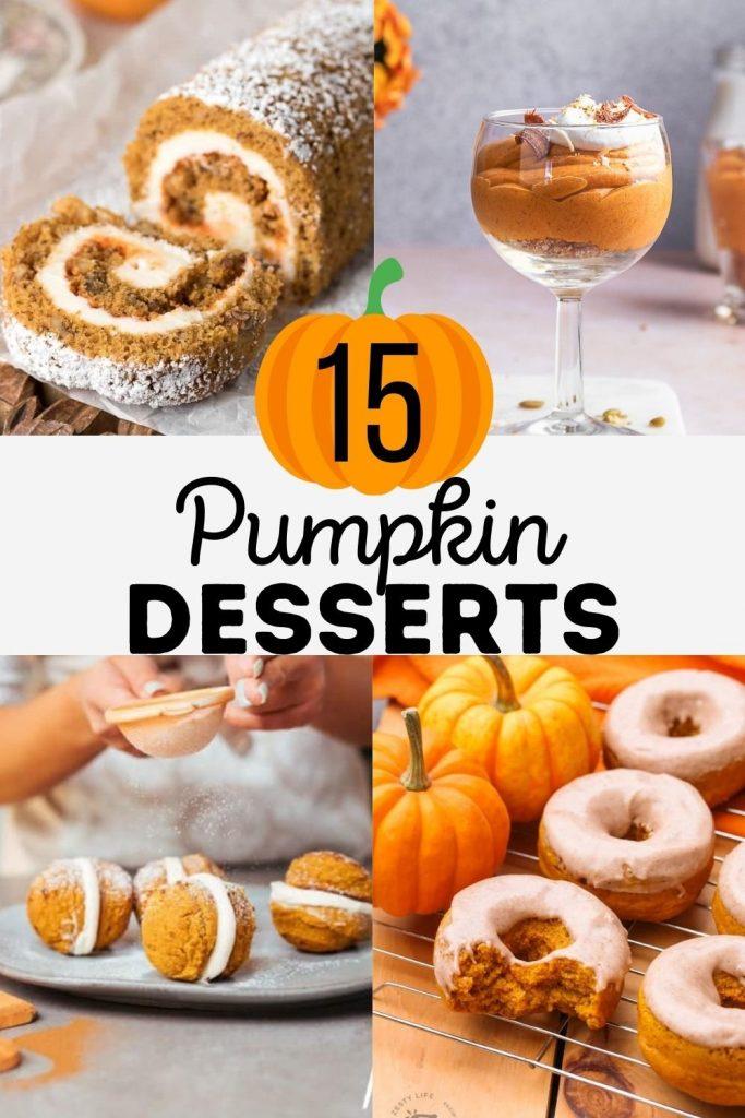 15 Pumpkin Dessert Recipes