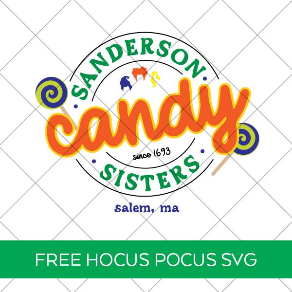 Free Sanderson Sisters SVG from Hocus Pocus Movie