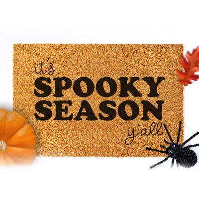 Free Halloween Doormat SVG