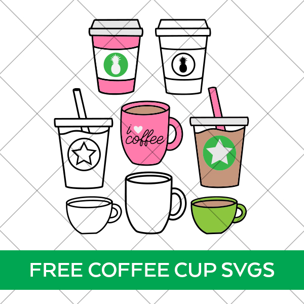 Free Coffee Cup SVG Files