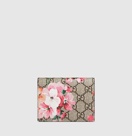 GUCCI,GGブルームス,お札入れ付き カードケース,410088 KU2IN 8693