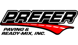 Prefer Paving & Ready Mix Logo