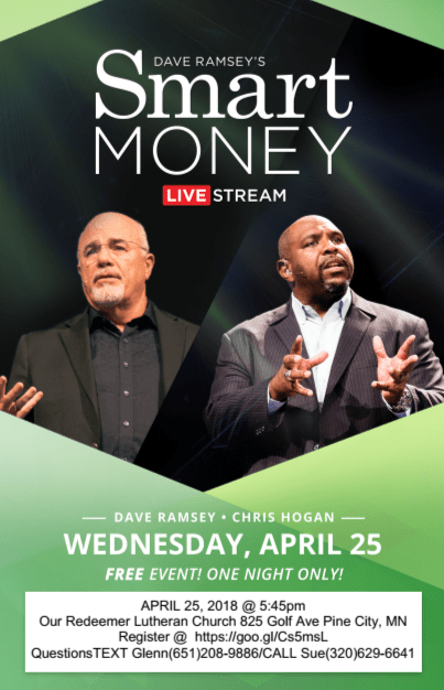 Smart Money event on April 25th