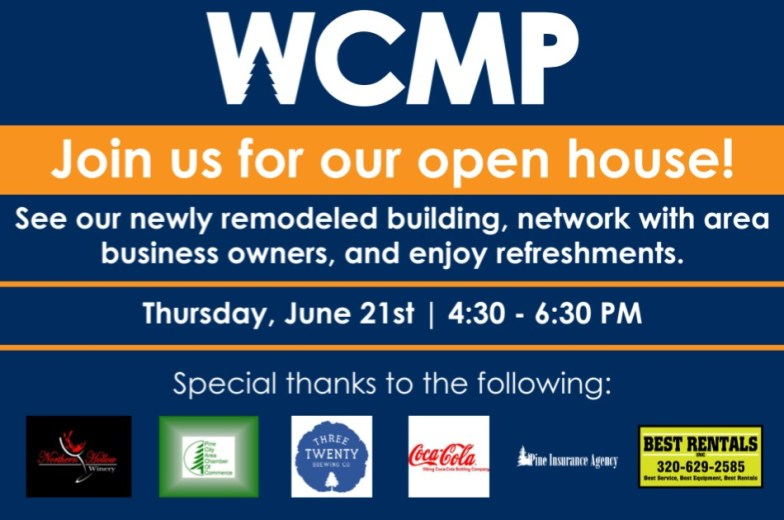 WCMP Open House Invitation