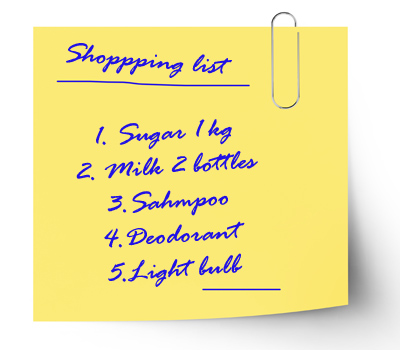 shoppinglist