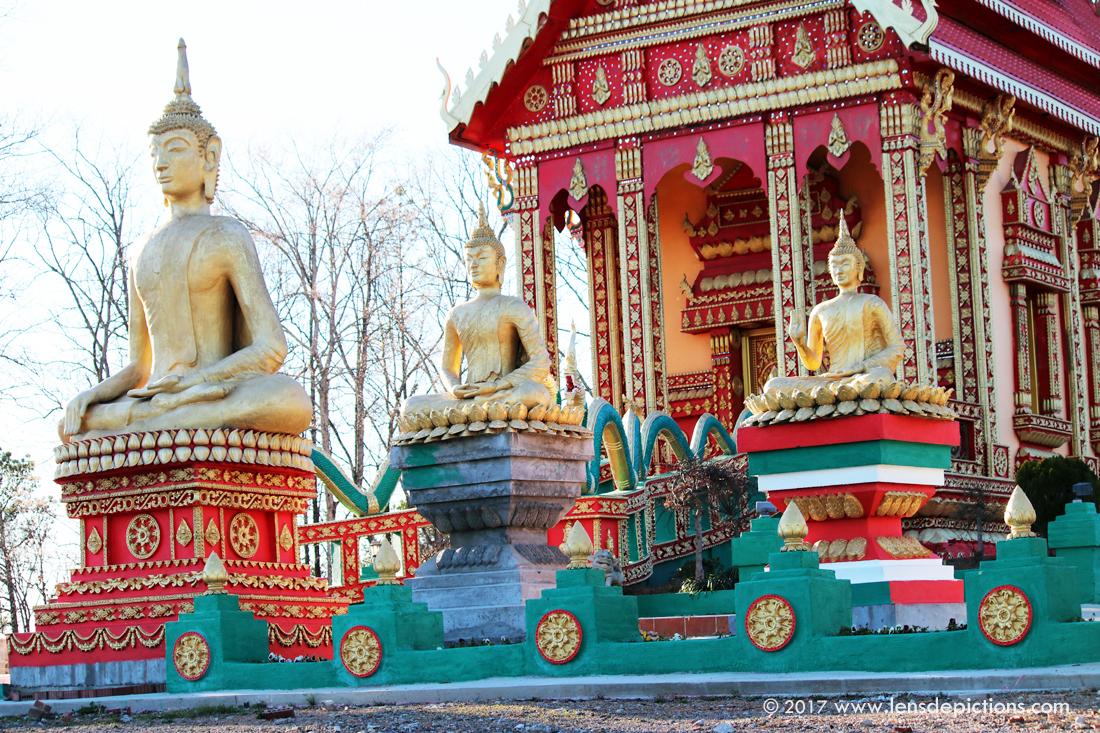 Buddhist temple of Georgia USA