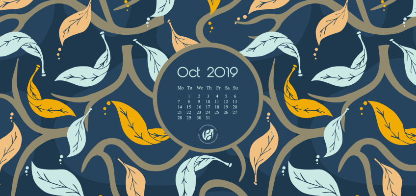 October 2019 Free desktop wallpaper