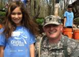 Melanie and Sgt Merrill