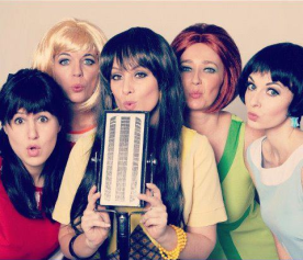 Shout!: Martine Kawalsky, Melissa Sanderson, Luella Holland, Laura Bosman and Jennifer Moss