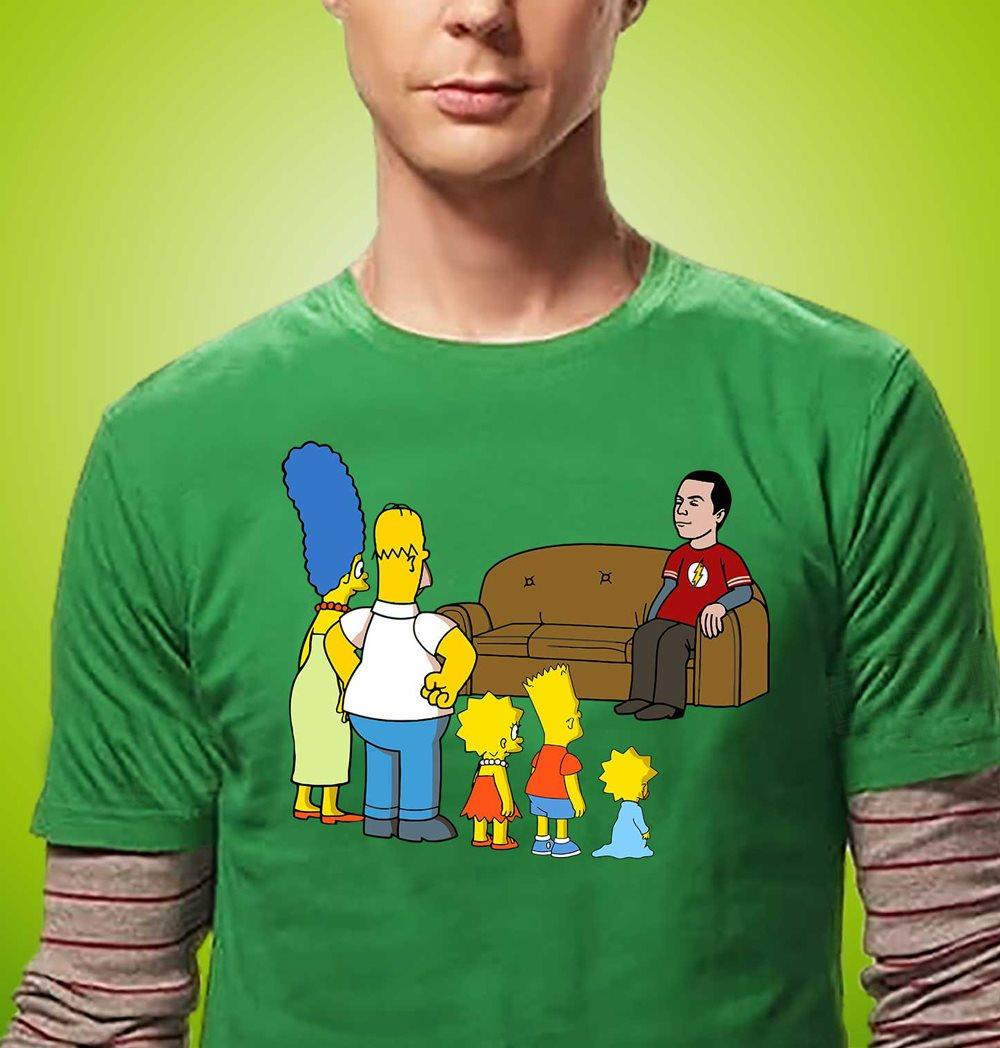 Simpson Family And Flash Shirt