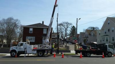 Streetlight Installation and Maintenance banner