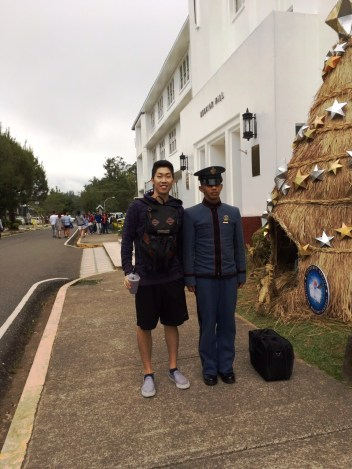 With a PMA Cadet