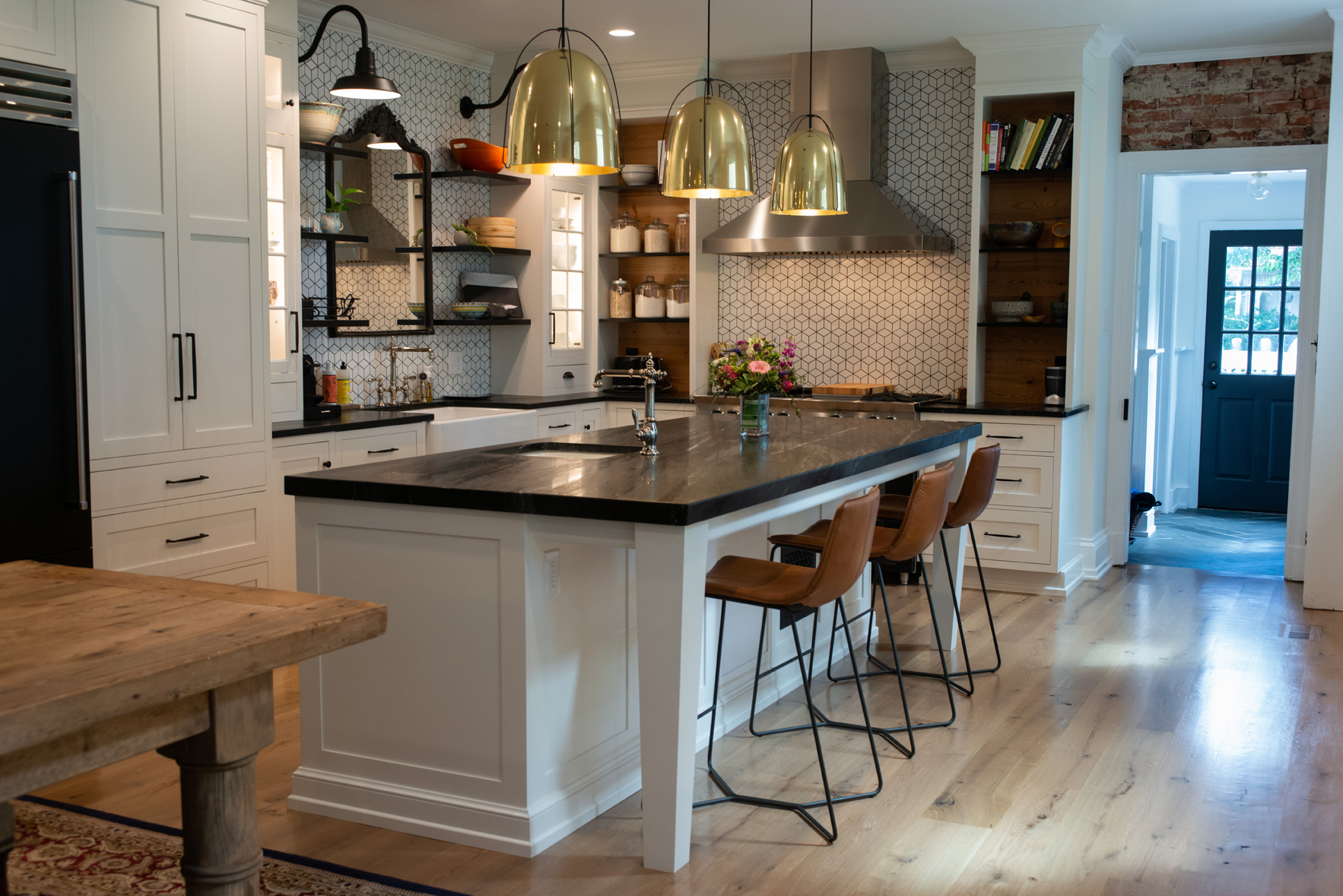 kitchen remodling unfinished oak cabinets remodeling contractor west chester pa pine street carpenters