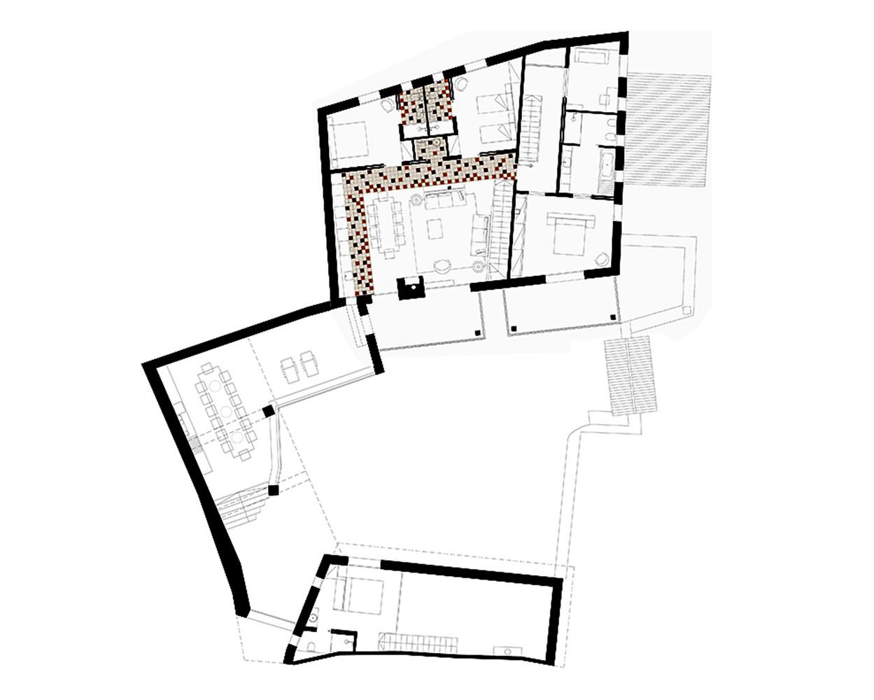 Rehabilitación en Cerdeña. dom - arquitectura. Rústico contemporáneo.