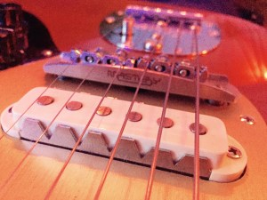 Mastery bridge on Fender Jaguar
