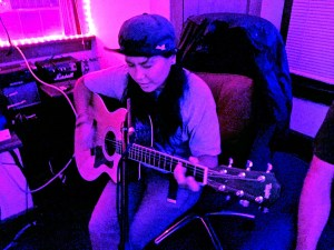 Playing Taylor Guitar
