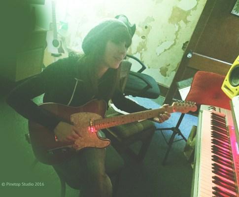Liz Mills At Pinetop Recording Studio